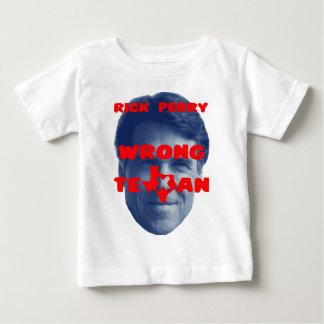 Rick Perry - Wrong Texan Baby T-Shirt