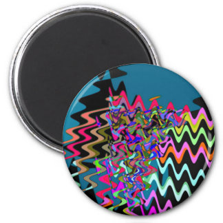 Rick Rack Sonic Waves Magnets