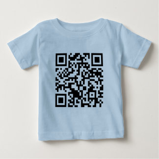 Rick Roll QR Code Rickrolled Baby T-Shirt