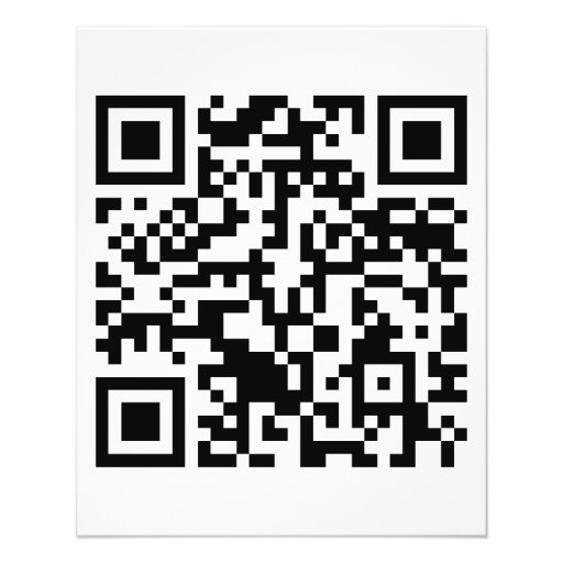 Rick Roll QR Code Rickrolled Custom Flyer