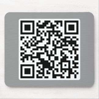Rick Roll QR Code Rickrolled Mouse Pad
