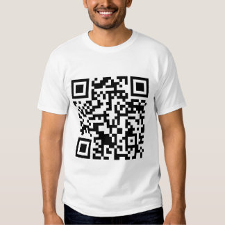 Rick Roll QR code Rickrolled T Shirts