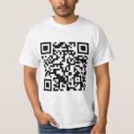 Rick Roll QR Code Rickrolled Tee Shirt