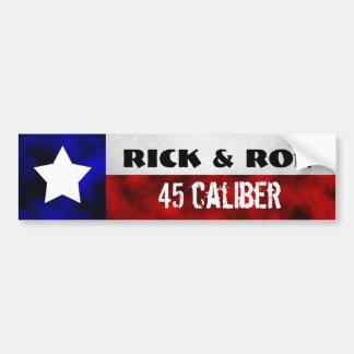 Rick & Ron Car Bumper Sticker