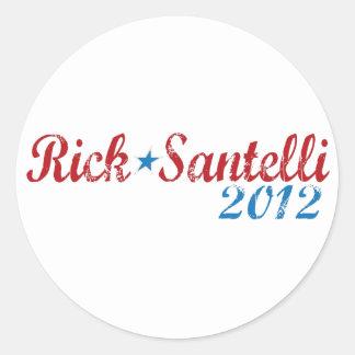 Rick Santelli 2012 Pegatina Redonda