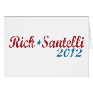 Rick Santelli 2012 Tarjeta De Felicitación