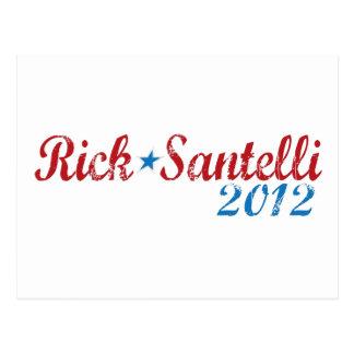 Rick Santelli 2012 Tarjetas Postales