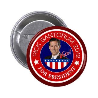 Rick Santorum 2012 2 Inch Round Button