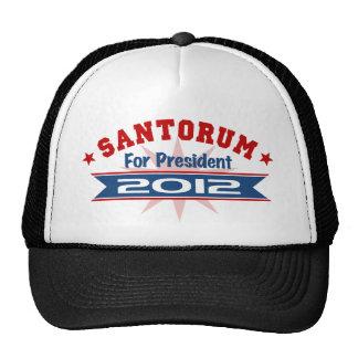 Rick Santorum 2012 Mesh Hat