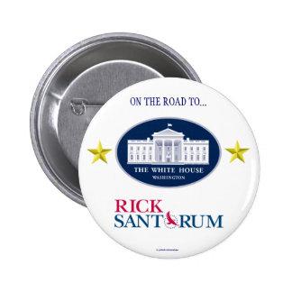 RICK SANTORUM 2012 political pinback button