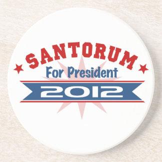 Rick Santorum 2012 Posavasos Para Bebidas