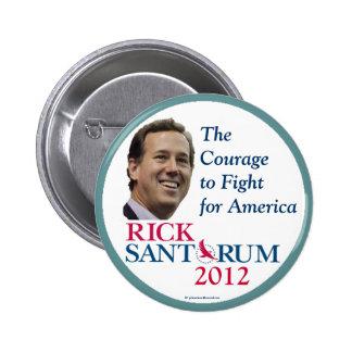 Rick Santorum 2012 Republican political pinback bu Pinback Buttons