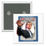 Rick Santorum 2016 2 Inch Square Button