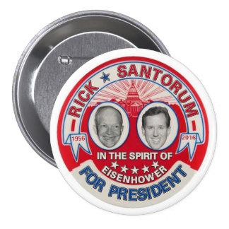 Rick Santorum 2016 3 Inch Round Button