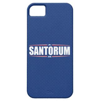 Rick Santorum 2016 (estrellas y rayas - azul) Funda Para iPhone 5 Barely There