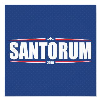 Rick Santorum 2016 (estrellas y rayas - azul) Cojinete