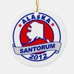 Rick Santorum Alaska Christmas Tree Ornament