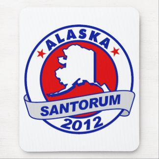 Rick Santorum Alaska Mouse Pad