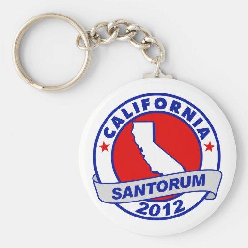 Rick Santorum California Llaveros Personalizados