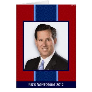 Rick Santorum Card