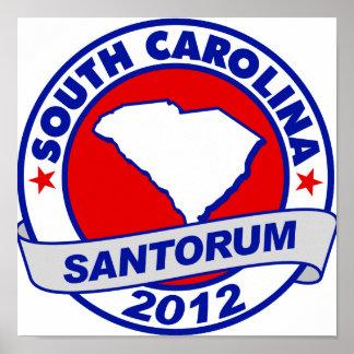 Rick Santorum Carolina del Sur Impresiones