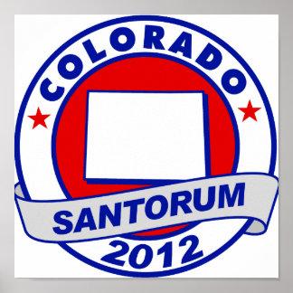 Rick Santorum Colorado Impresiones