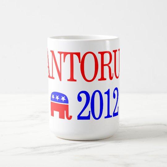 Rick Santorum For President 2012 Coffee Mug