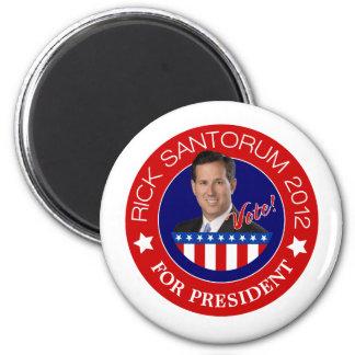 Rick Santorum for President 2012 Magnet