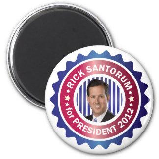 Rick Santorum for President 2012 Fridge Magnets