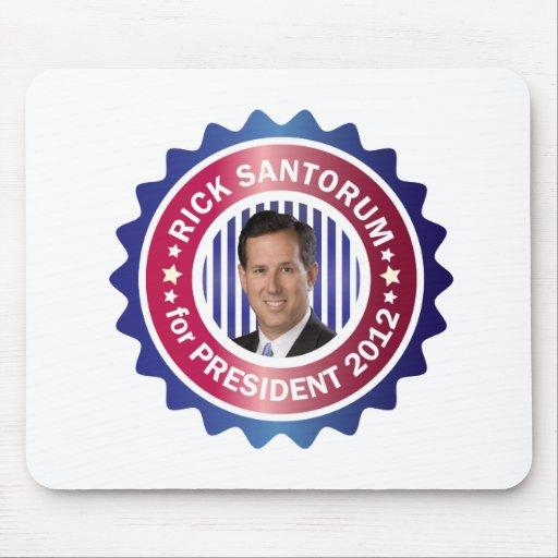 Rick Santorum for President 2012 Mouse Pad