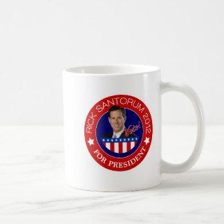 Rick Santorum for President 2012 Mugs