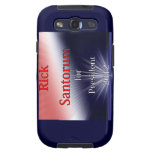 Rick Santorum For President Dulled Explosion Samsung Galaxy SIII Covers