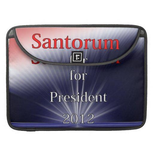 Rick Santorum For President Dulled Explosion Sleeve For MacBooks