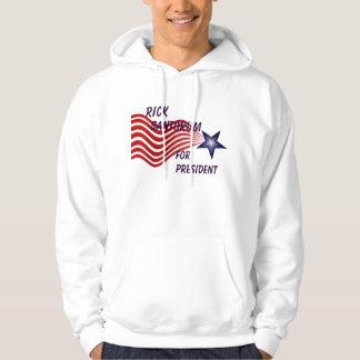 Rick Santorum For President Shooting Star Hoodie