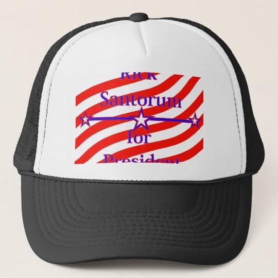 Rick Santorum For President Strips With 3 Stars An Trucker Hat