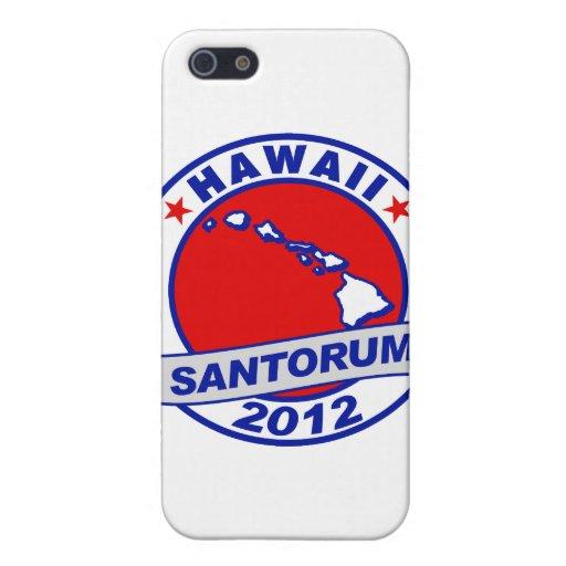 Rick Santorum Hawaii iPhone 5 Protectores