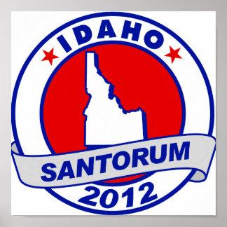 Rick Santorum Idaho Posters