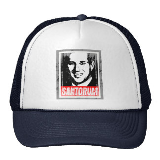 RICK SANTORUM INK BLOCK.png Trucker Hat
