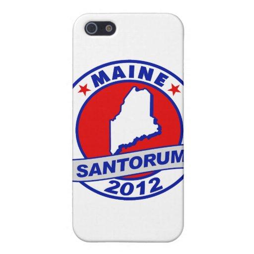 Rick Santorum Maine Cases For iPhone 5