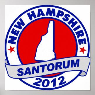 Rick Santorum New Hampshire Impresiones