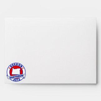 Rick Santorum Oregon Envelope