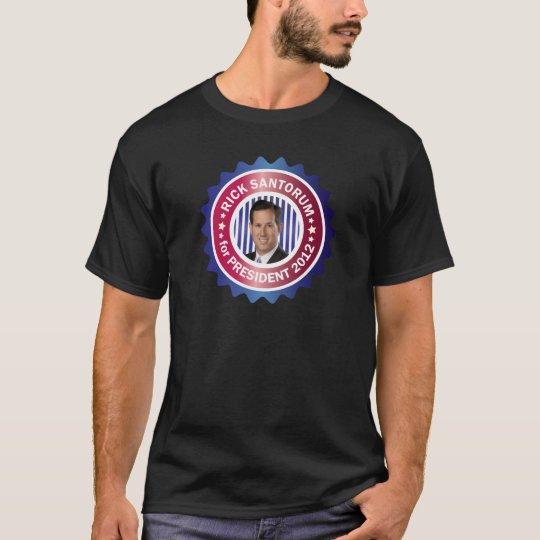Rick Santorum para el presidente 2012 Playera