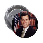 Rick Santorum Pinback Button