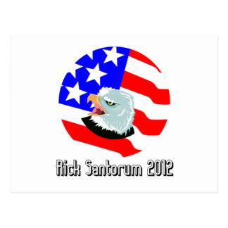 rick santorum postcard