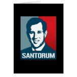 RICK SANTORUM POSTER CARDS