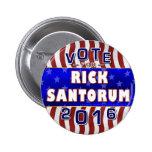 Rick Santorum President 2016 Election Republican 2 Inch Round Button