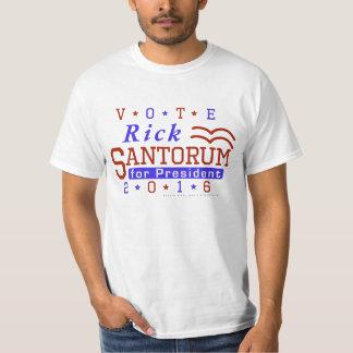 Rick Santorum President 2016 Election Republican T-Shirt