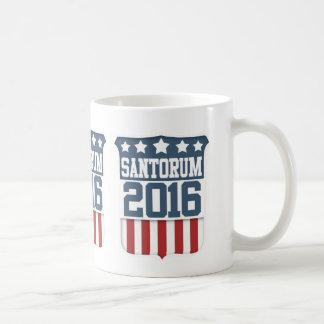 Rick Santorum President 2016 Classic White Coffee Mug