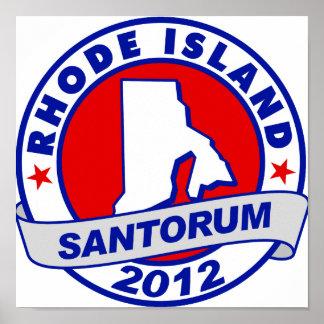 Rick Santorum Rhode Island Impresiones