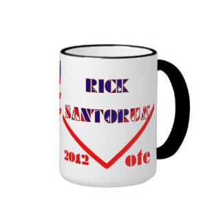 Rick Santorum Ringer Mug